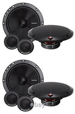 4 Rockford Fosgate R1675-s 6,75 160w 2 Voies Composants Auto Système Audio Haut-parleur