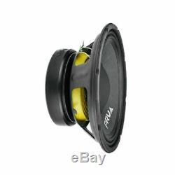 4 X Audio 10w650a 10 Prv Sub Woofer Alto Audio Pro Bass Speaker 2600w 8 Ohms