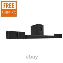 5.1 Bluetooth Speaker System Home Theater Surround Sound Avec Subwoofer Nouveau