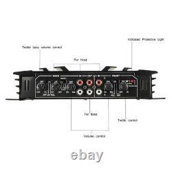 5800watt 4 Channel Car Amplificateur Stereo Audio Speaker Amp Pour Subwoofer DC 12v