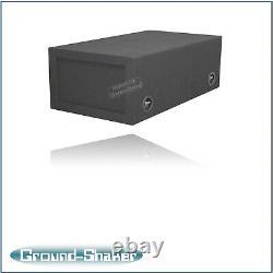 8 Dual Center Vent Ported Sub Box Subwoofer Enceinte Haut-parleur Box Car Audio