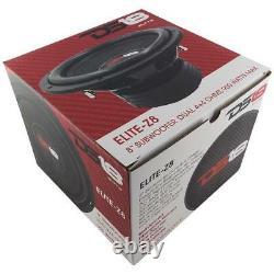 8 Subwoofer 3600w Dual 4 Ohm Car Audio Truck Bass Speaker Sub 2 Paire Ds18 Z8