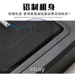 9'' Ultra-mince Sous Siège Voiture Subwoofer Power Amplificateur Bass Hifi Audio Speaker