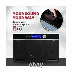 Aiwa Exos9 Haut-parleur Bluetooth Portable Double Voice Coil Subwoofer Stereo Sound
