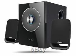Aktives Wintech 2.1 Caisson De Graves Système Audio Haut-parleur S-109 Système 1000 Watt