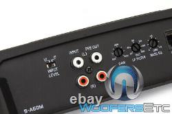 Alpine S-a60m Amp Monoblock 600w Subwoofers Speakers Bass 2 Ohm Amplificateur Nouveau