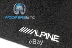 Alpine Sbt-s10v Unique 10 Swt 1000w Ported Caisson De Graves Enceinte D'enceintes Bass Nouveau