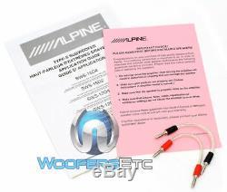 Alpine Swt-10s4 10 1000w Sous 4 Ohms Caisson De Basses-parleurs Bass Camion De Voiture Audio Nouveau