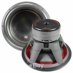 Audiopipe Txx-bdc4-15 15 Caisson De Graves Dual 4 Ohm 1400 Watts Rms Car Audio Haut-parleur