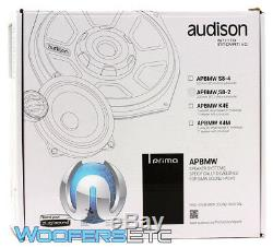 Audison Apbmw S8-2 8 150w Rms 2 Ohms Shallow Slim Compact Subwoofer Basse