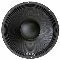 B&c 21sw152-8 21 Neodymium Subwoofer 8 Ohm Dj Live Sound 4000watts Bass Sub Nouveau