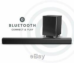 Barre De Son Système Haut-parleur Subwoofer Audio Dock Bluetooth Extrêmement Puissant 150w