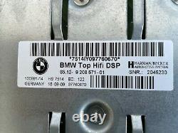 Bmw Oem E92 E90 Logic7 Harman Hifi Sound System Set Haut-parleurs Amplificateur Subwoofer