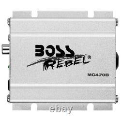 Boss Audio Mc470b 1k Watt Imperméable Tous Terrain Bluetooth Haut-parleur/amplificateur