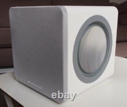 Cambridge Audio Minx X201 Ultra Compact Subwoofer Haut-parleur Chaque Gloss Blanc