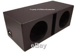 Car Audio Aérosol Doublé Ported Double 10 Sub Box Haut-parleur Subwoofer Enceinte