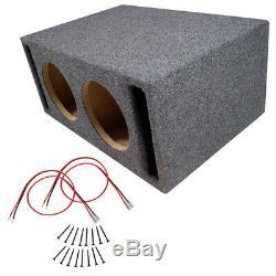 Car Audio Double 10 Emplacement Ported Stéréo Subwoofer Labyrinth Parleurs Bass Sub Box
