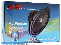 Cdt Audio Cl-69s Slim 6 X 9 180w Rms En Fibre De Carbone Voiture Haut-parleurs Nouveaux Caissons De Basse