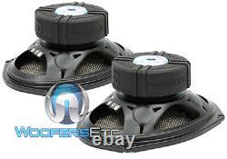 Cdt Audio Hd-690cf. 2 6 X 9 120w Rms 2-ohm Carbon Fiber Subwoofers Haut-parleurs Nouveau