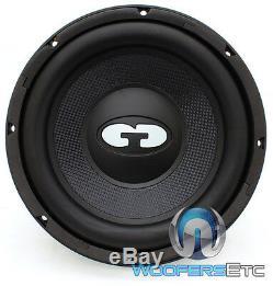 Cdt Audio Qex-1020 10 Svc 4 Ohm 500w Rms Clean Subwoofer Voiture Président Nouveau