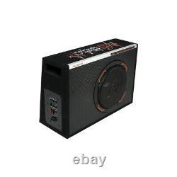 Cerwin Vega H6te12sv 12 Subwoofer 1400w Slim Vented Enclosure Box Bass Amp Nouveau
