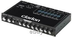 Clarion Eqs755 Voiture 7 Bandes Equalizer Graphique Audio Pre Amp Haut-parleur De Haut Niveau