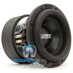 Coucher Audio Sa-8 V. 3 D2 Sub 8 500w Dual 2 Ohms Caisson De Basse-parleur Haut-parleur Basse New