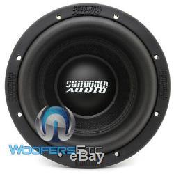 Coucher Audio Sa-8 V. 3 D4 Sub 8 500w Dual 4 Ohms Caisson De Basse-parleur Haut-parleur Basse New