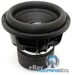 Coucher Audio Z-15 V. 5 D1 Sub 15 2000w Rms Dual 1 Ohm-parleur Basse Subwoofer