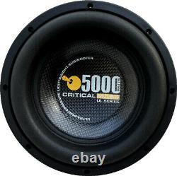 Critical Mass Ul12 Best Audio Subwoofer Speaker Jl Nr Audiophile 12'' USA Sound