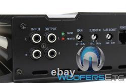 DC Audio 2.0k Monoblock Amp 2000w Rms Subwoofers Speakers Bass Amplificateur Nouveau