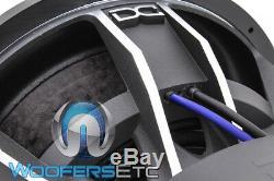 DC Audio Lv6 Elite 15 D1 15 9000w Double 1 Ohms Caisson De Basses-parleurs Bass Woofer Nouveau