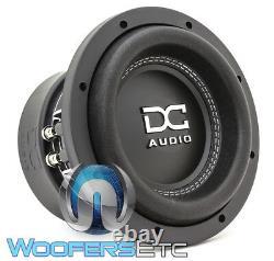 DC Audio M3-8 D4 Sub 8 1200w Double 4 Ohms Caisson De Graves Graves Haut-parleurs Woofer Nouveau