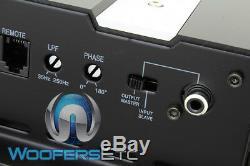 DC Audio Monobloc Amp Rms Subwoofers Haut-parleurs De Basses Voiture Amplificateur Nouveau