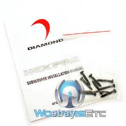 Diamant Audio Hp15d2 Hex 15 DVC Pro 2000w Max Caisson De Basses Haut-parleur Loud Basse Nouveau
