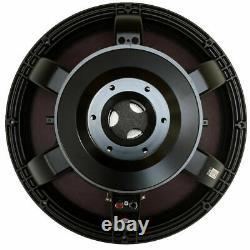 Dix-huit Sound 18lw2420 18 Remplacement Subwoofer 2600w 8-ohm Speaker Sub Dealer