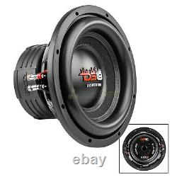 Ds18 10 Subwoofer Double 4 Ohms 1400 Watts Max Basse Sub Président Car Audio Z Vx10