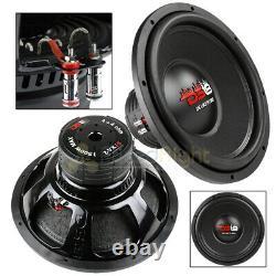 Ds18 15 Subwoofer Dual 4 Ohm 1500 Watts Max Basse Sub Speaker Car Audio Z-vx15