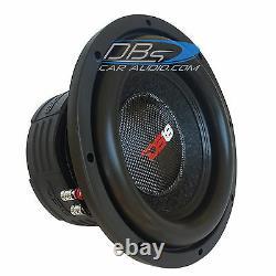 Ds18 Z10 10 Car Audio Subwoofer 1500w Max Dual 4 Ohm 10 Pouces Bass Sub Speaker