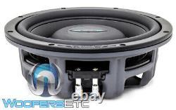 Dynamique De L'image Idqs8 D2 8 125w Rms Dual 2-ohm Shallow Mount Subwoofer Speaker