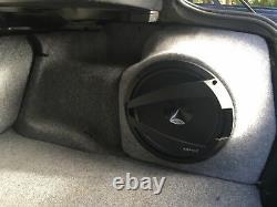 E46 Série 3 Saloon 5dr Stealth Sub Speaker Enclosure Box Sound Bass Audio 10 12