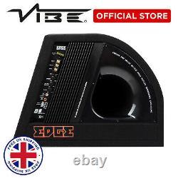 Edge 10 Car Audio 750w Peak Sub Active Bass Subwoofer Speaker Amp & Enclosure