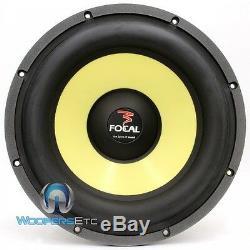 Focal 33kx 13 Poly 800w Dual 2 Ohm K2 Puissance Caisson Haut-parleur (surdimensionné 12)