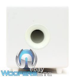 Focal Cub3 Blanc Compact Actif 8 Polyflex Caisson De Basses-parleurs Bass Home Cinéma