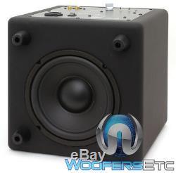 Focal Cub3 Noir Compact Actif 8 Polyflex Caisson De Basses-parleurs Bass Home Cinéma
