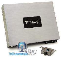 Focal Fpd 900,1 Voiture Monoblock 900w Rms Haut-parleurs Subwoofers Ampli Basse Nouveaux