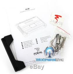 Focal Solid2 Noir Amp 2 Channel Max Haut-parleurs Composant Subwoofer Amplificateur