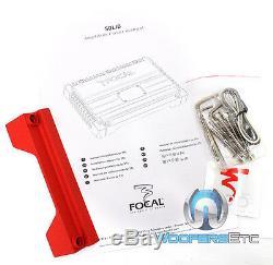 Focal Solid2 Red Amp 2 Canaux 400w Max Haut-parleurs Composant Subwoofer Amplificateur