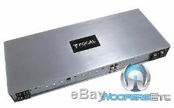 Focal-fdp 1,2000 Monoblock 2000w Rms Haut-parleurs Subwoofers Bass 2 Ohms Amplificateur
