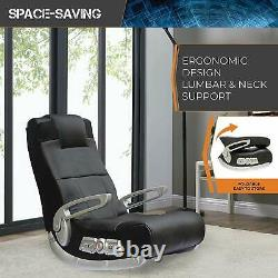 Gaming Chair Gamer With Sound Speakers & Subwoofer Game Seat Rocker Adolescents Adultes